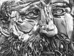 franco cuttica - soho nyc (branko_) Tags: wood portrait sculpture white black art argentina franco drift cuttica