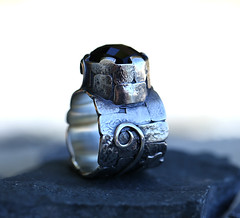 The Guardian's Ring (SpiralStone) Tags: castle handmade jewelry ring jewellery onyx spiralstone