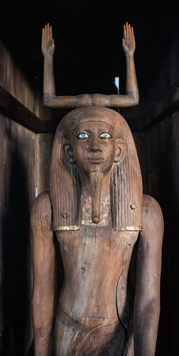 Dashur Amenemhat III Funerary Complex Ka-Statue Pharaoh Auib-Re Hor Timber 13th Dynasty