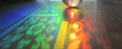 rolling on rainbows (margeois) Tags: abstract reflections rainbow fleurdelis prisms stg tiffanyglass chasingrainbows