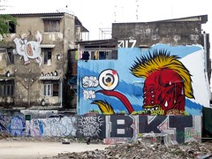 Bangkok graffiti - red guy (ashabot) Tags: bangkok thailand graffiti streetscenes streetart seasia street