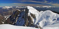Brda03 (Vid Pogacnik) Tags: slovenia slovenija julianalps julijske alpe mountain panorama outdoor landscape tourskiing snow winter ridge mountainridge