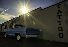 Old Ford (dbs1953) Tags: ford blue truck fordtruck conway arkansas