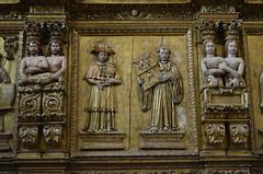 Saints and sinners (Pedro Nuno Caetano) Tags: portugal braga mosteirodesmartinhodetibes monastery