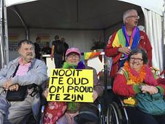 Rotterdam Pride 2016 (Ron van Zeeland) Tags: rotterdampride pride lhbt lgbt lgbtq lgbti holland rotterdam gaypride greypride grey elderly people
