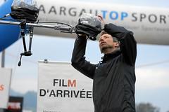 Hallwilerseelauf: Regenschutz fuer die Kameras