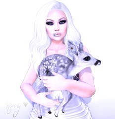 My Lovely Fawn (RoxxyPink) Tags: roxxy pink fawn fawny lovely theepiphany teh epiphany gacha white little bones littlebones blueberry mesh meshhead meshhair hair meshbody body meshnails nails virtual world avatar ava avi slblog secondlife secong life 2ndlife fashionuschies fashion uschies blog blogger blogging fashionblog fashionblogger virtualblogger virtualblog 3d game black bantam blackbantam