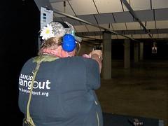 Shooting Springfield Armory XD-S (athena60_98) Tags: springfieldarmoryxds40singlestack45acpshootingattherangeladiescostumepartyyakimawashingtontarget15yards springfield armory xds 40 single stack 45 acp shooting range ladies costume party yakima washington target 15 yards