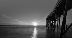 Sunshine (iShootPics) Tags: shore water a7r nj belmar pier le longexposure sel1635z