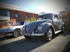 (ludovic.aigle) Tags: volkswagen coccinelle troyes oldtimer aircooled kever kaefer beetle voiture ancienne ovale cox