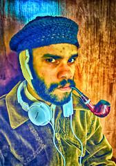 AUTO-RETRATO COM ORELHA CORTADA (João Alves I) Tags: autoretrato com orelha cortada vincent willem van gogh selbstbildnis mit verbundenem ohr selfportrait with bandaged ear releituras póscomtemporâneas denise magalhães joão alves