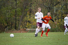 IMG_3777eFB (Kiwibrit - *Michelle*) Tags: soccer varsity boys high school game team monmouth mustangs nya north yarmouth academy maine 102916