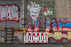 road works (Rasande Tyskar) Tags: hamburg streetart art germany graffity graffiti