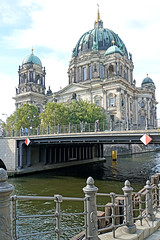 Germany-00090 - Cathedral of Berlin (archer10 (Dennis) 83M Views) Tags: germany berlin building sony a6300 ilce6300 18200mm 1650mm mirrorless free freepicture archer10 dennis jarvis dennisgjarvis dennisjarvis iamcanadian novascotia canada globus tour