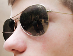 C (Harperauman) Tags: conflict want sunglasses reflection problem boy girl