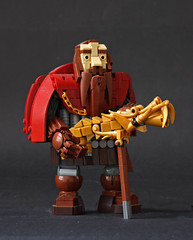 Dwarvish Dragonguard (Pate-keetongu) Tags: lego moc dwarf dwarves wesnoth