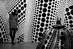 dots, dots, dots, me, dots, dots.... (eweliyi) Tags: stockholm sweden trip eweliyi me ja self 365v4 yayoikusama modernamuseet dots