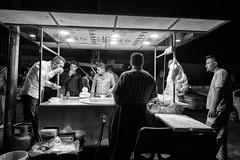 Street dinner (Saman A. Ali) Tags: street streetphotography blackwhite blackandwhite bw people documentary dailylife dinner streetdinner