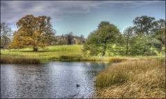 Fawsley autumn (Darwinsgift) Tags: fawsley hall autumn daventry northamptonshire voigtlander 58mm f14 nokton sl ii nikon d810 hdr photomatix landscape water