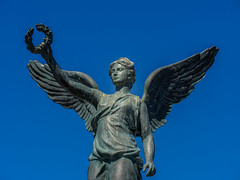Bronze Statue ( Harbour - Rhodes Town - Greece) Olympus OM-D EM5 & mZuiko 35-100mm f2.8 Zoom (1 of 1) (markdbaynham) Tags: statue bronze rhodes rhodos town harbour greece grecia greka greek hellas hellenic olympus omd em5 csc mirrorless evil mft m43 m43rd micro43 panasonic lumix g 35100mm f28s