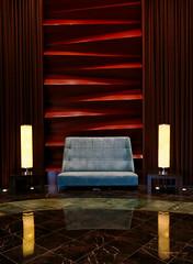 Hotel Lobby Couch (Mondmann) Tags: redrock redrockcasino lasvegas nevada usa america unitedstates lobby couch sofa furniture elegant mondmann canonpowershotg7x casino resort spa hotel elegance reflection