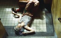 (martine.es) Tags: shoot film fashion stairs girl sun sunlight