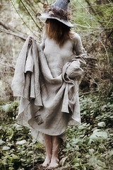 IMG_32603 (saver_ag) Tags: people portrait female outdoor autumn nature witch hat dress