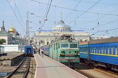 Soviet style | VL80S.2346 | Odessa-Glavnaya (UA) (lofofor) Tags: electric ukrajina ukraine odesa odessa stanica station vl80 uman glavnaya