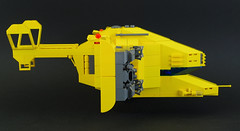 Renault Hirondelle (06) (F@bz) Tags: starfighter spaceship lego sf space moc scifi renault