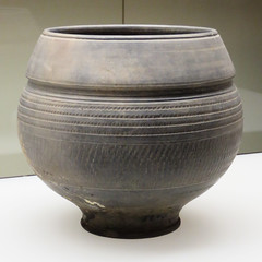 IMG_6248 (jaglazier) Tags: 1stcentury 1stcenturyad 2016 ceramics clay cologne copyright2016jamesaglazier geometric germany gray koln köln museums pottery romangermanicmuseum römischgermanischesmuseum september ubian ubier archaeology art band crafts earthenware germanic grey punched stippled unglazed urns
