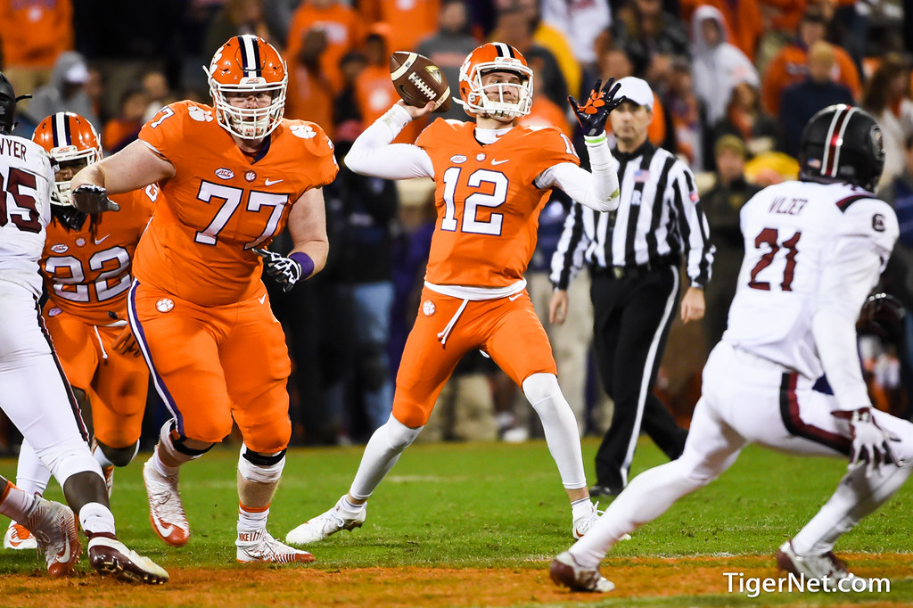 Clemson Photos: Nick  Schuessler, 2016, Football, South  Carolina
