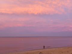 Arcachon, Hors Saison - Off Season (blafond) Tags: arcachon stationbalnaire seasideresort horssaison offseason coucherdesoleil sunsetonthebach sunset plage beach