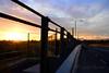 oola bridge sunrise this morning... (ggcphoto) Tags: sunrise bridge oola sky cloud morning fence fencedfriday road ontheroad outdoor