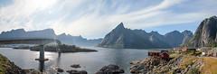 Iles Lofoten 12 (Xtian du Gard) Tags: lofoten fjord norvège norway panorama landscape waterscape seascape reine nordland pont bridge rorbu pinnaclephotography soe xtiandugard