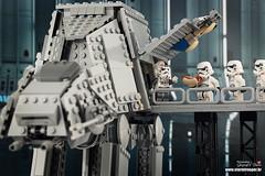 """ No food or drink "" (storm TK431) Tags: stormtrooper atat deathstar rogueone starwars lego legostarwars legominifigure"