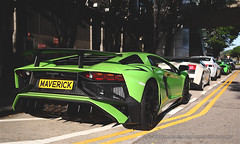 "Lamborghini, Aventador LP750-4 ""SuperVeloce"", Central, Hong Kong (Daryl Chapman Photography) Tags: maver1ck maverick lamborghini aventador lp7504 sv superveloce italian car cars auto autos automobile canon eos is ii f28 road engine power nice wheels rims hongkong china sar drive drivers driving fast grip photoshop cs6 windows darylchapman automotive photography hk hkg bhp horsepower brakes gas fuel petrol topgear headlights worldcars daryl chapman 2470mm 1d mkiv"