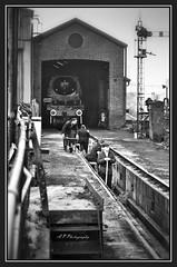 22.10.16 Mid Hants Early Morning The Workers...Wadebridge  34007.. (Tadie88) Tags: midhantsautumnsteamgala2016 thewatercressline hampshire nikond7000 nikon18200lens railways steam preservedrailway wadebridge34007 ropley