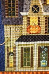 October 28 2016, Friday (interchangeableparts) Tags: worksinprogress needlepoint halloweenstitching kirkbradley
