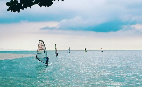 #sealover #skylovers #windsurf #watersports #mylife #myphotos #lifestyle #wind #sea #calm #pattaya_thailand