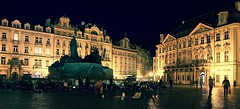 Prague Old town square at night (somabiswas) Tags: prague oldtownsquare night lights czechrepublic