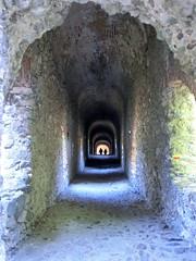 dans le pont-aqueduc romain, (MIL55) Tags: pont aqueduc romain fenouilldes corbieres roussillon wdiaporama ansignan