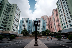 Telford Garden (jmywong) Tags: telfordgarden hongkong city urban kowloonbay asia architecture symmetry