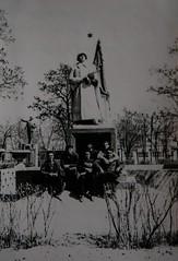 . . (Scutal) Tags: photo old retro black white blackwhite urss student students history moldova transnistria carmanovo grigoriopol soviet           memorial
