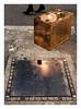 Prudence petits pas (hélène chantemerle) Tags: art cuivre grandpalais photosderue sculpture sol reflets lumière pieds talonsaiguilles noir gris copper ground reflection light inside feet highheels black grey fiac