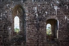 Doune pair of windows (KClarkPhotography) Tags: scotland travel kclarkphotography doune castle stonewall