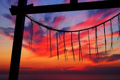 Beyond the torii (sonica@2006) Tags: beyond torii is said be boundary between gods world human there god sea behind this japan chiba tateyama xm1 xf35mm fujifilm fujinon platinumheartaward