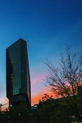 Columbus Sunset (Nerd Dog Studio) Tags: columbus ohio sunset building landscape cityscape sonya6000 sony mirrorless