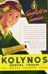 KOLYNOS Dental Cream - Women's Land Army (OldAdMan) Tags: oldadman advertisements advertising vintage healthbeauty kolynos dental cream toothpaste propaganda