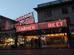 Farmers Market (quietseattle) Tags: pikeplacemarket seattle farmersmarket