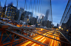 New York  City lights (beatricepreve) Tags: new york brooklyn manhattan night street life view windows america traffic usa drone downtown empire tower aerial roofs state birds sunrise power urban avenue built skyline light helicopter district offices tall high architecture city sunset buildings sky tourism looking scene crowded bridge large structure eye exterior road cityscape trafix traficjame morning taxi